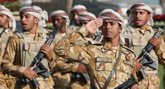 Призывники в армию объединенных арабских эмиратов