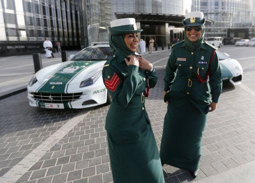 Полиция объединенных арабских эмиратов
