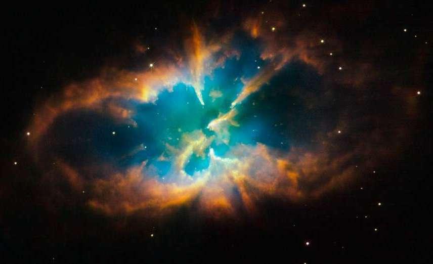 Скопление и планетарная туманность NGC 2818