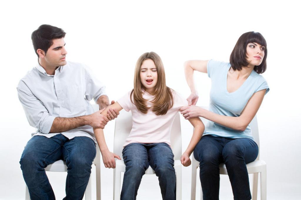 Сохранять брак ради детей