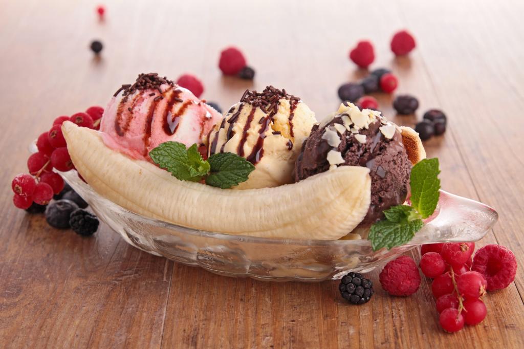банановый десерт без выпечки быстро