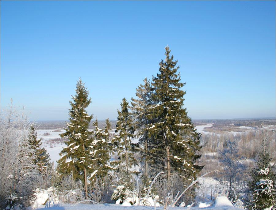 зима в нижегородской области