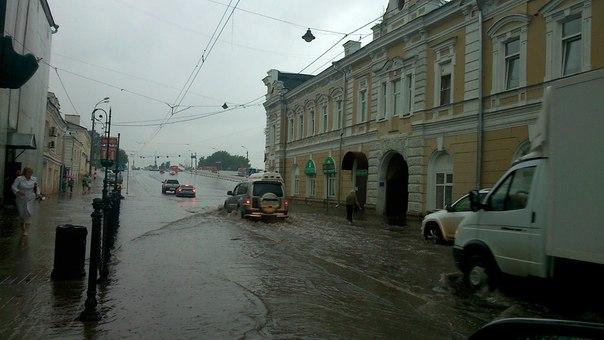 дождь в Новгороде
