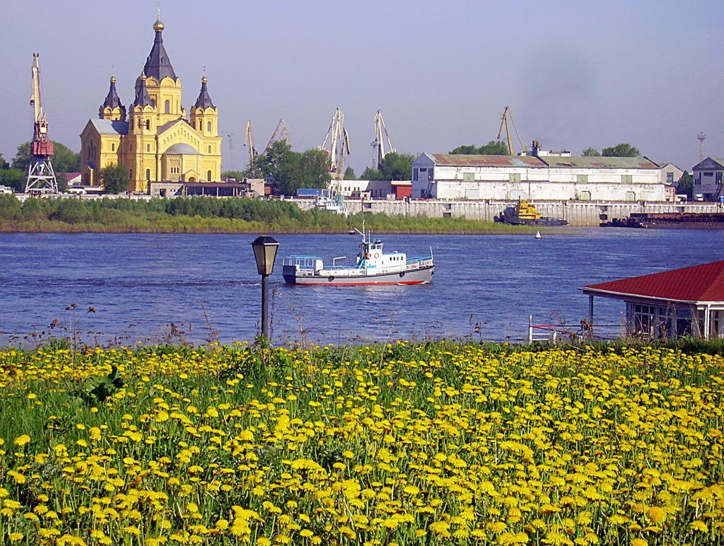 лето в нижнем Новгороде