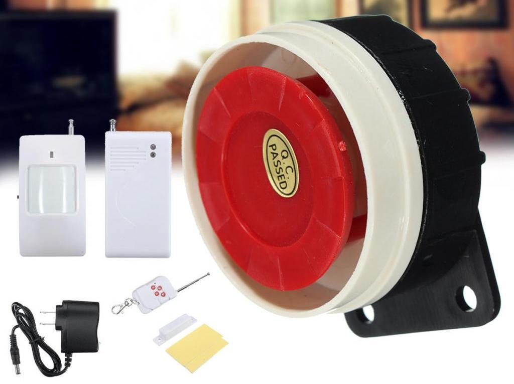 Беспроводной датчик движения с сиреной для дома