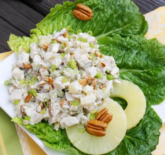 Способ сервировки салата