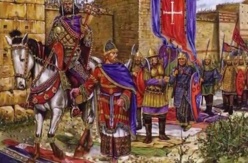 Византийцы идут