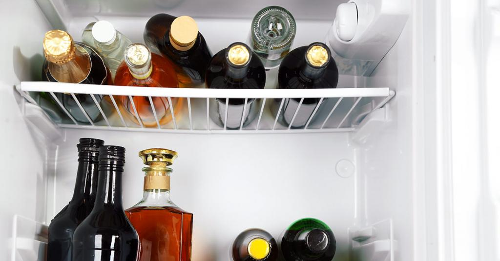 хранение вина в холодильнике