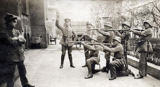Подавление советской республики в Баварии 1919