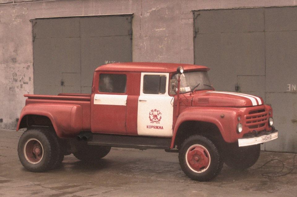 Пожарный ЗИЛ-пикап