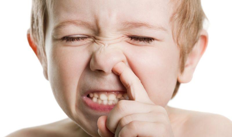 Почему дети едят козявки