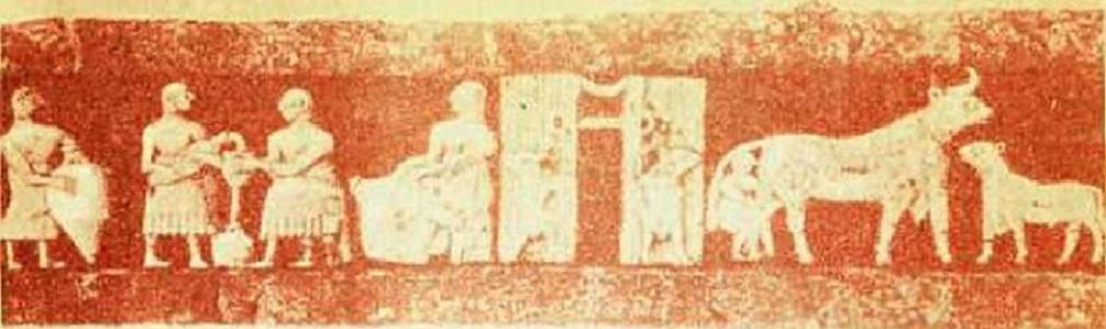 Фреска третьего тысячелетия до нашей эры