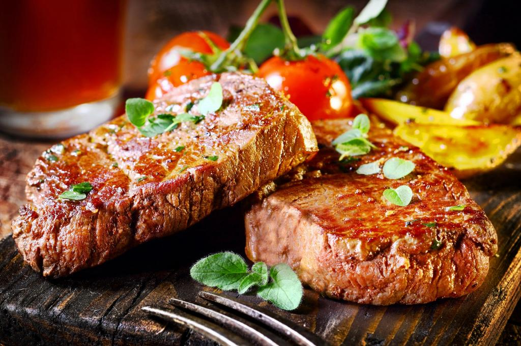 Жареное мясо со специями