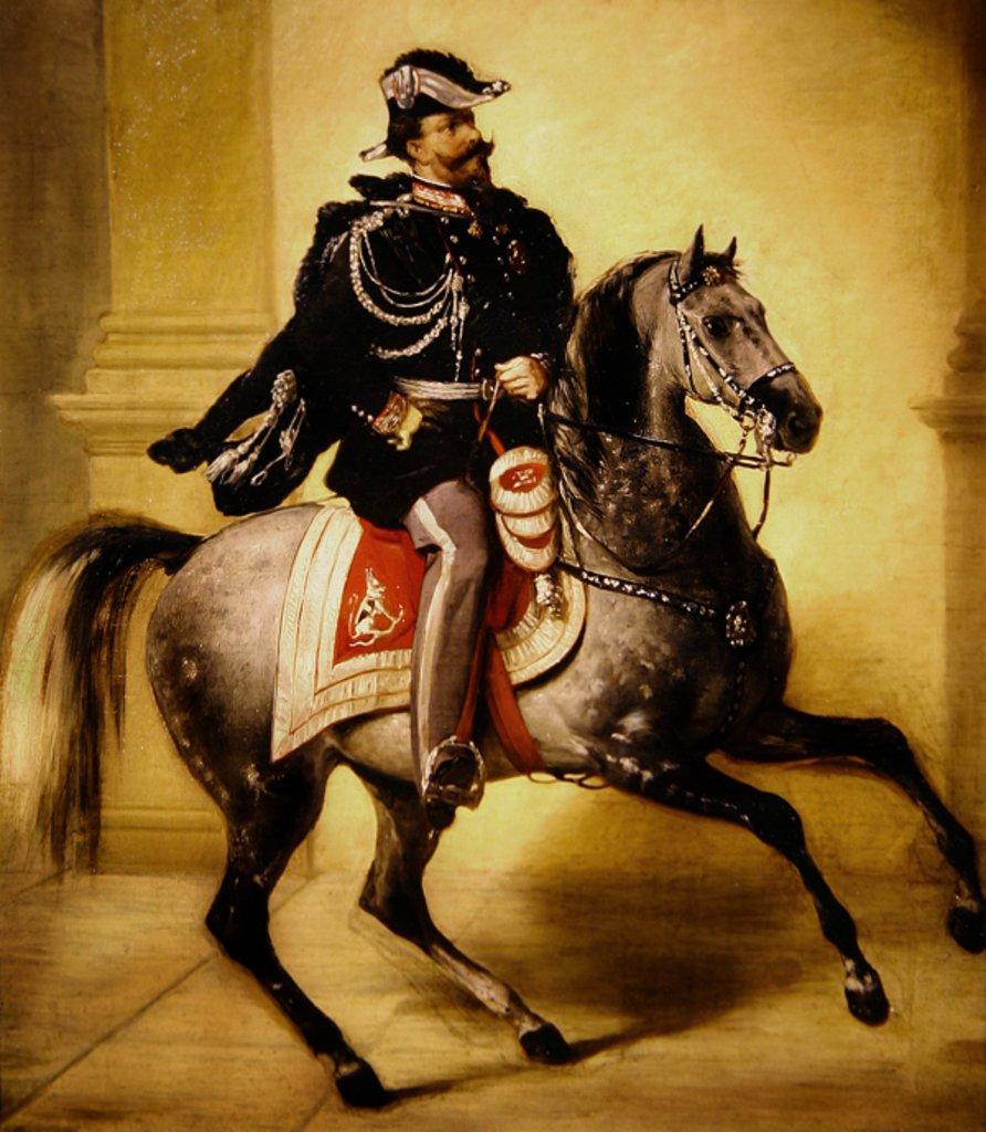 Виктор Эммануил на коне