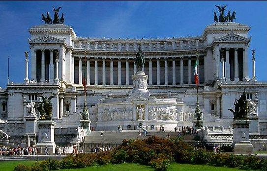 Рим памятник Виктору Эммануилу II
