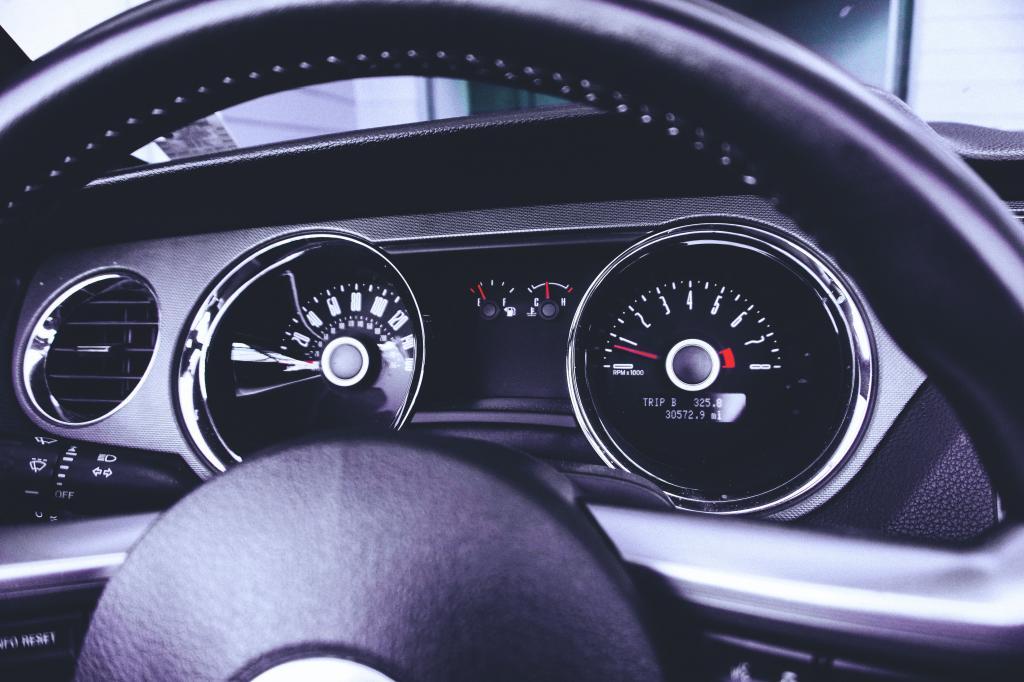 указатель температуры двигателя