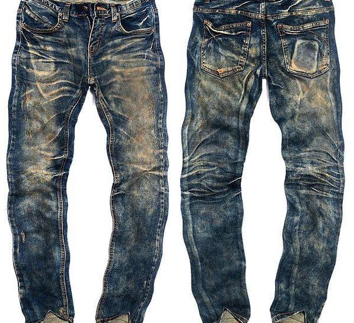 Заскорузлые джинсы