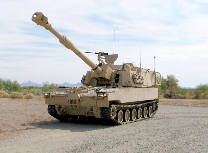 Самоходная артиллерия М109А6
