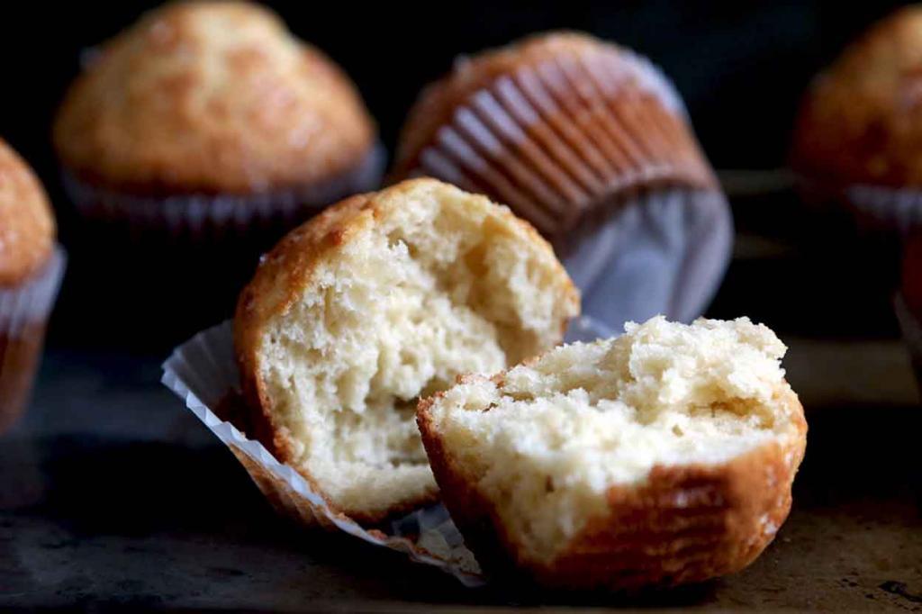 рецепт кексов манных
