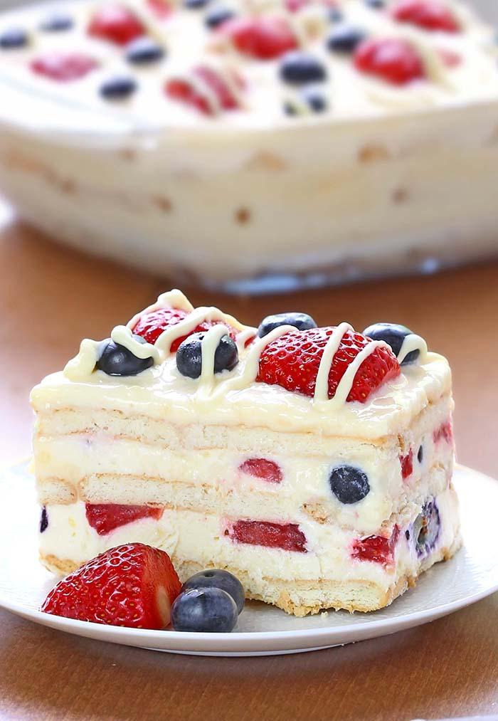 Крем для торта из мороженого