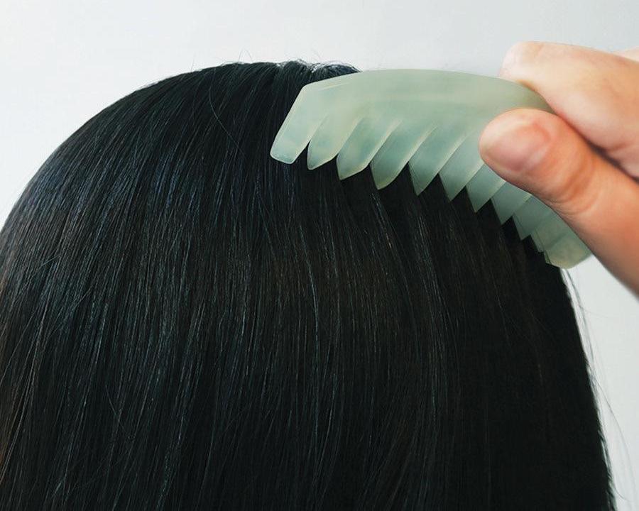 как расчесывать наращенные волосы