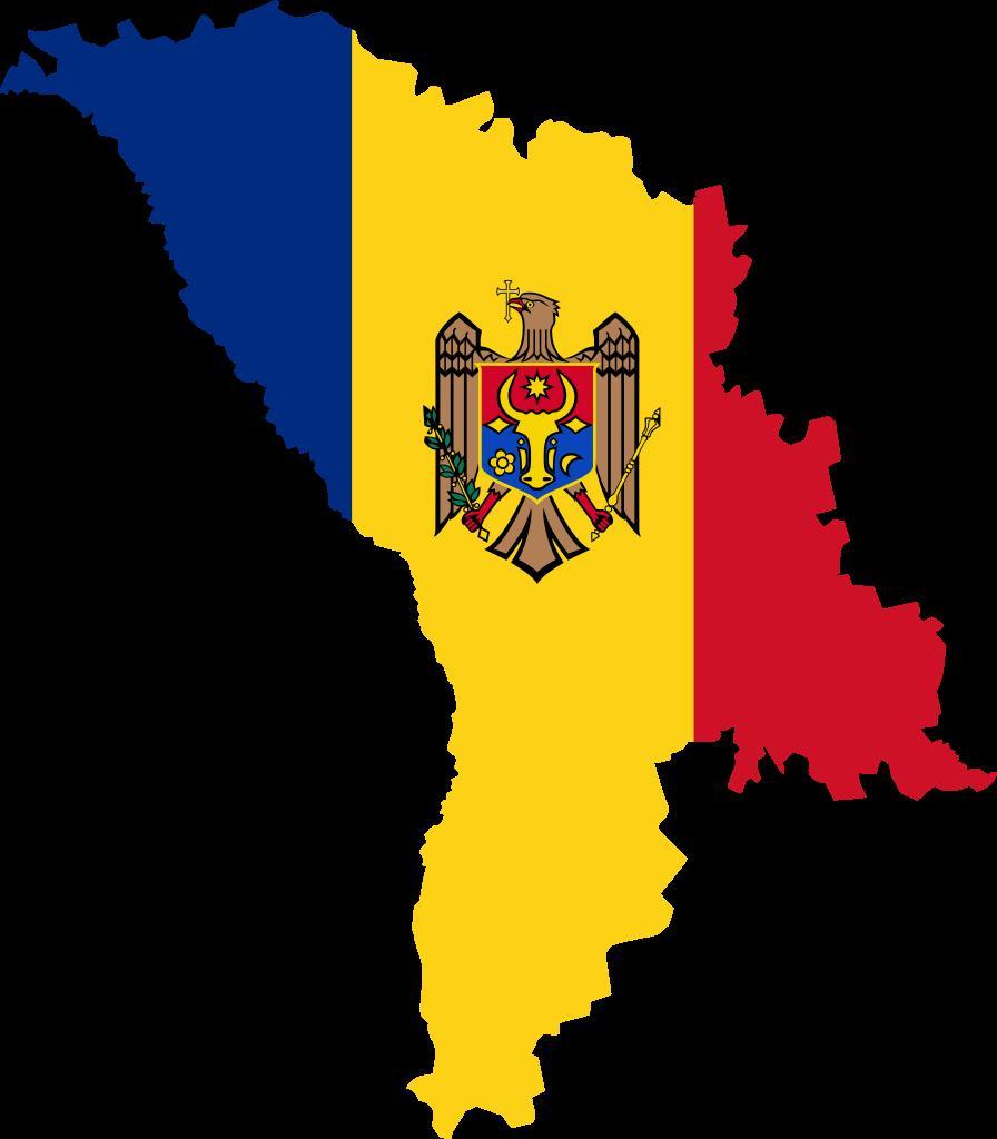 Карта Молдовы.