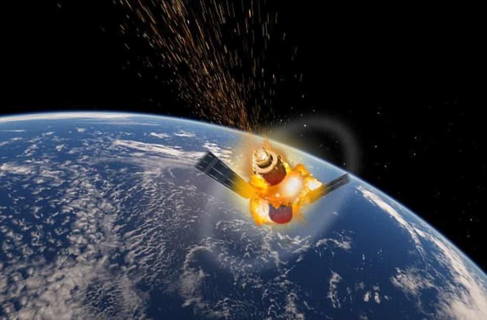 Мусор в космосе вокруг Земли