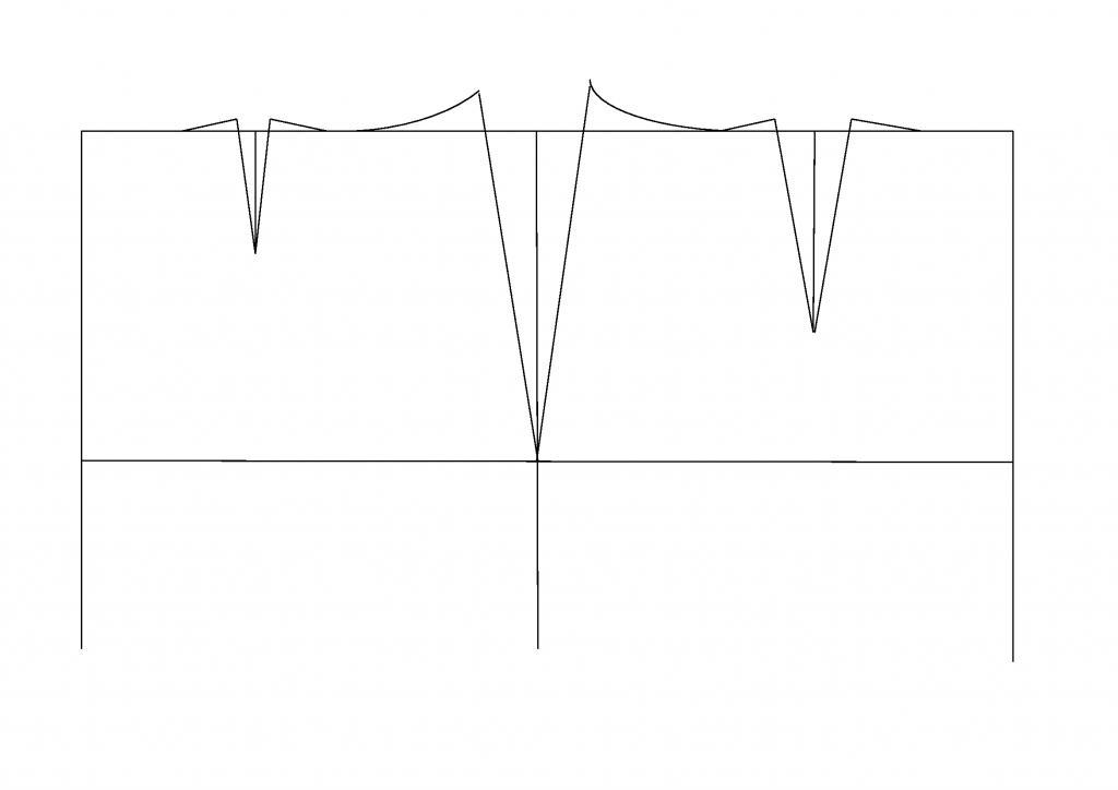 инструкционная карта построение чертежа прямой юбки