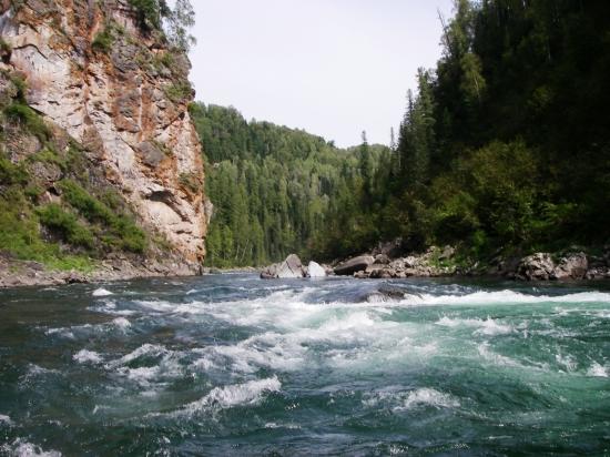 Верховья реки Кизир