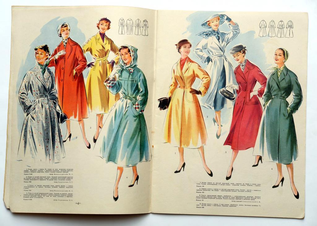 Мода в послереволюционный и довоенный период