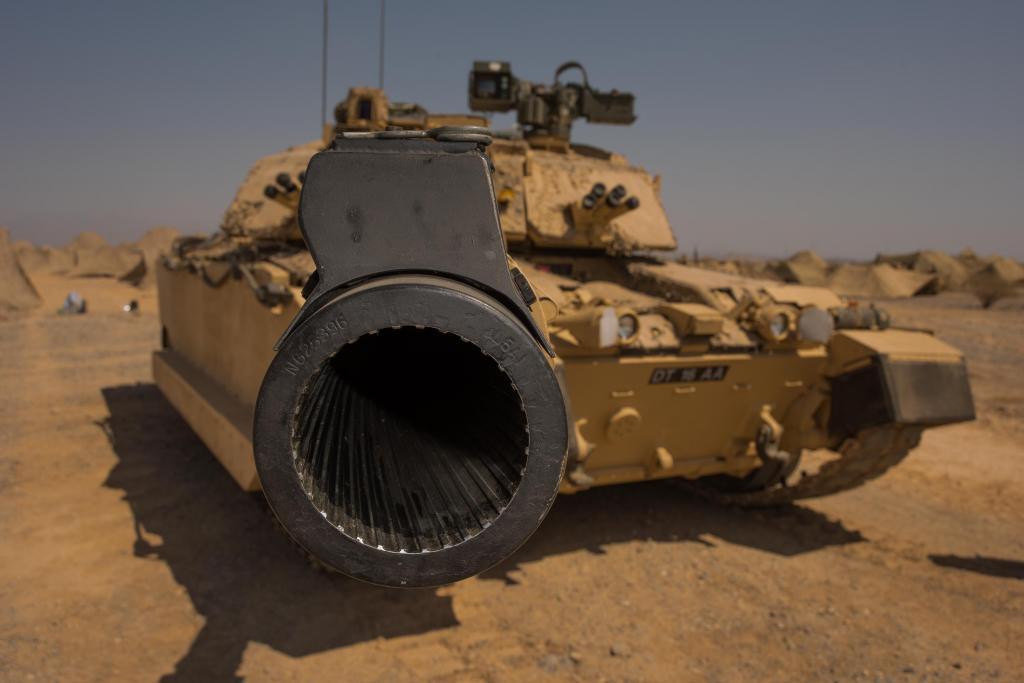Нарезной ствол орудия танка