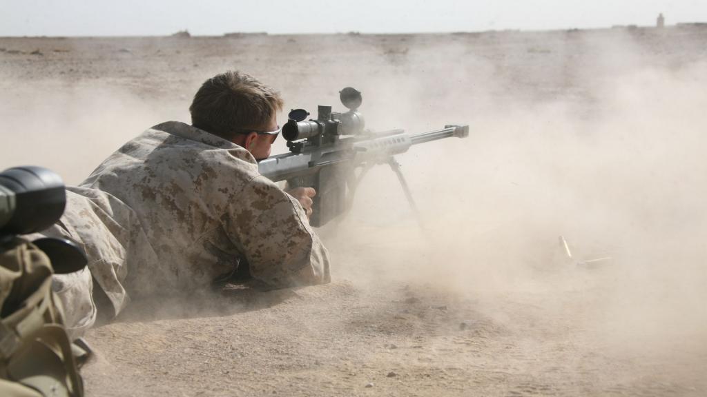 Стрельба снайпера