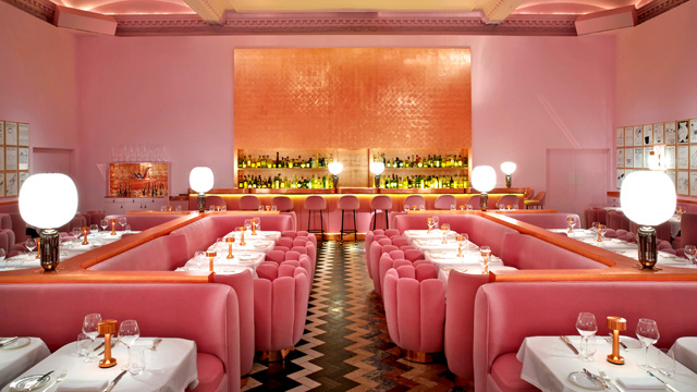 Лондонский ресторан