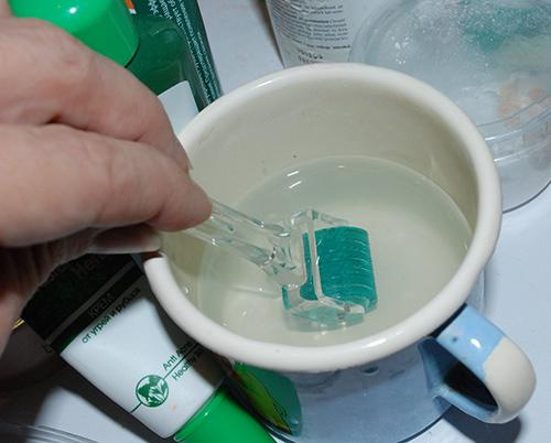 Обработка мезороллера