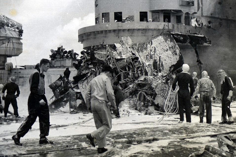 Японские камикадзе во Второй мировой