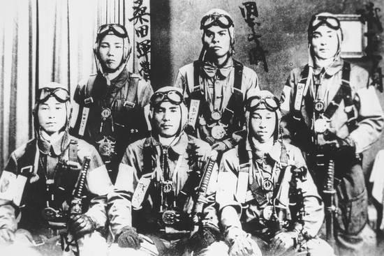 Японские пилоты камикадзе