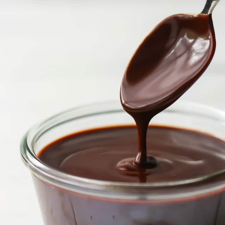 глазурь шоколадная из какао порошка и молока