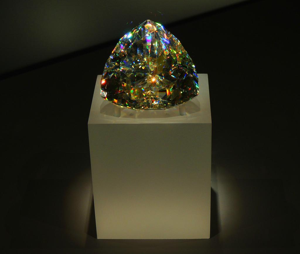 Бриллиант из церуссита