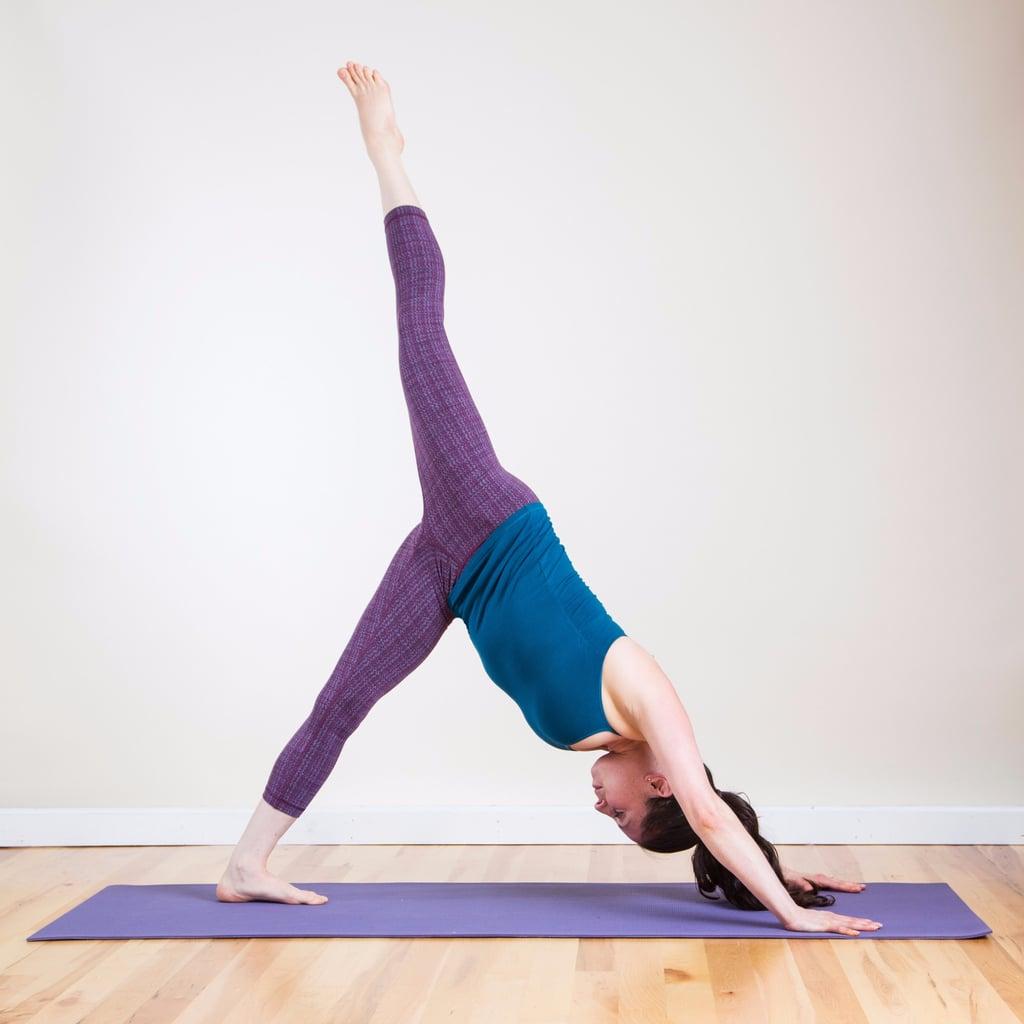 упражнение динамической йоги