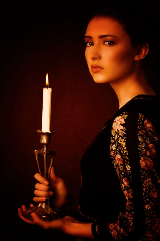 Очищение свечой