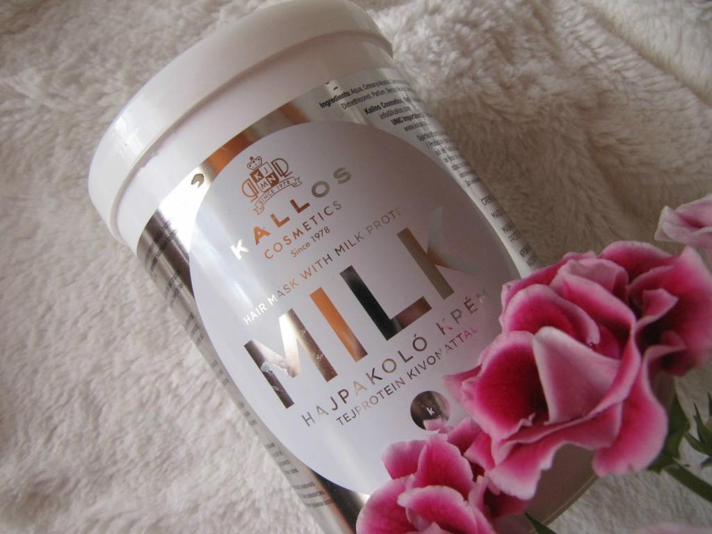 Kallos protein milk (маска для волос с молочным протеином)