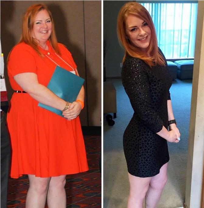 пример похудения
