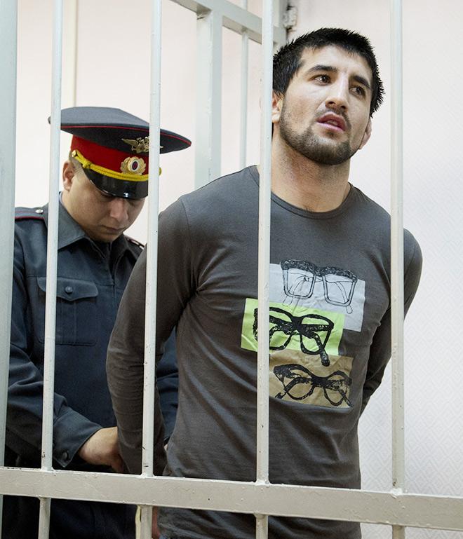 Мирзаев в зале суда