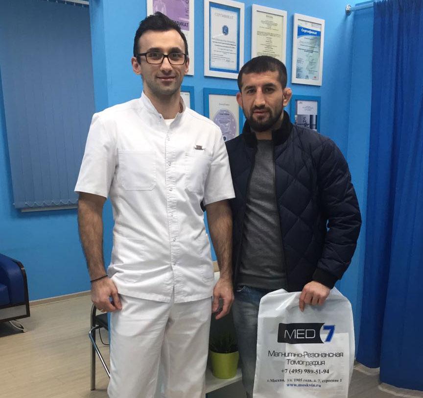 Мирзаев в больнице