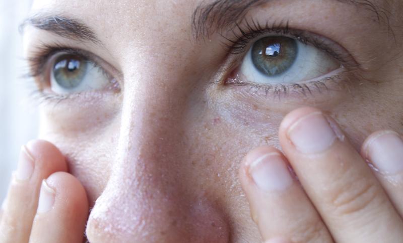 маска на область глаз