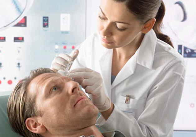 процедура инъекций ботокса мужчине