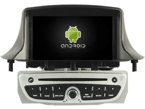 """Андроид 8.0 - система штатной магнитолы """"Рено Меган 2"""""""