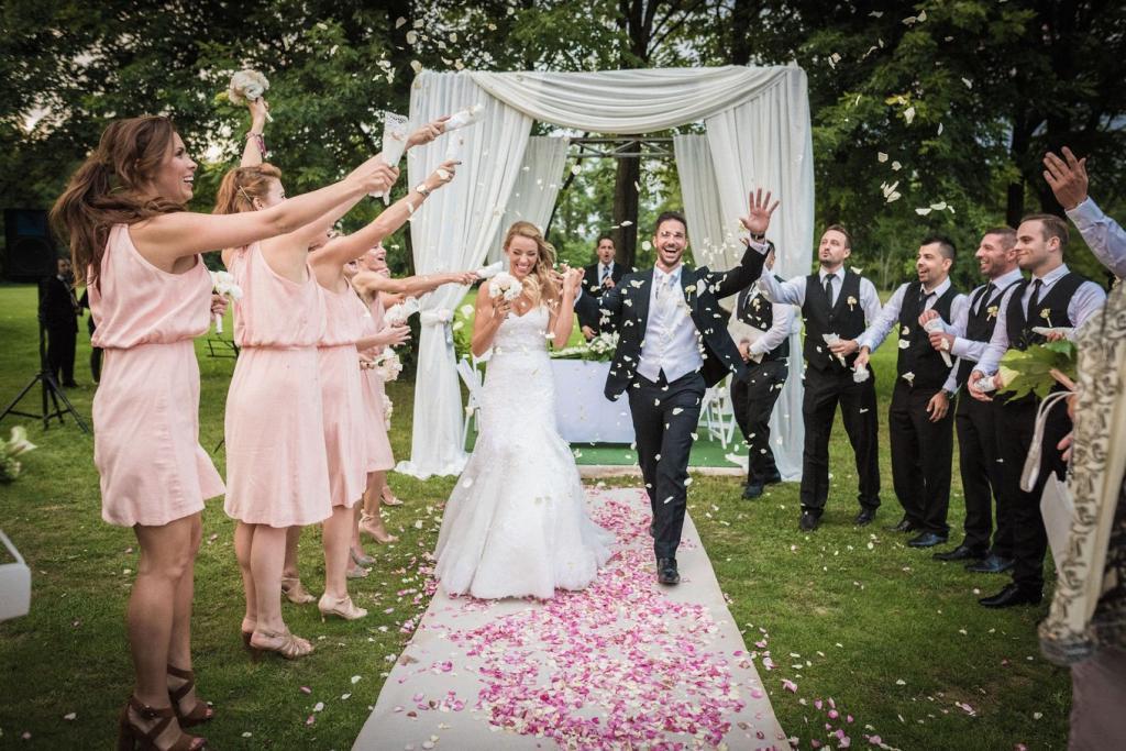европейская свадьба оформление