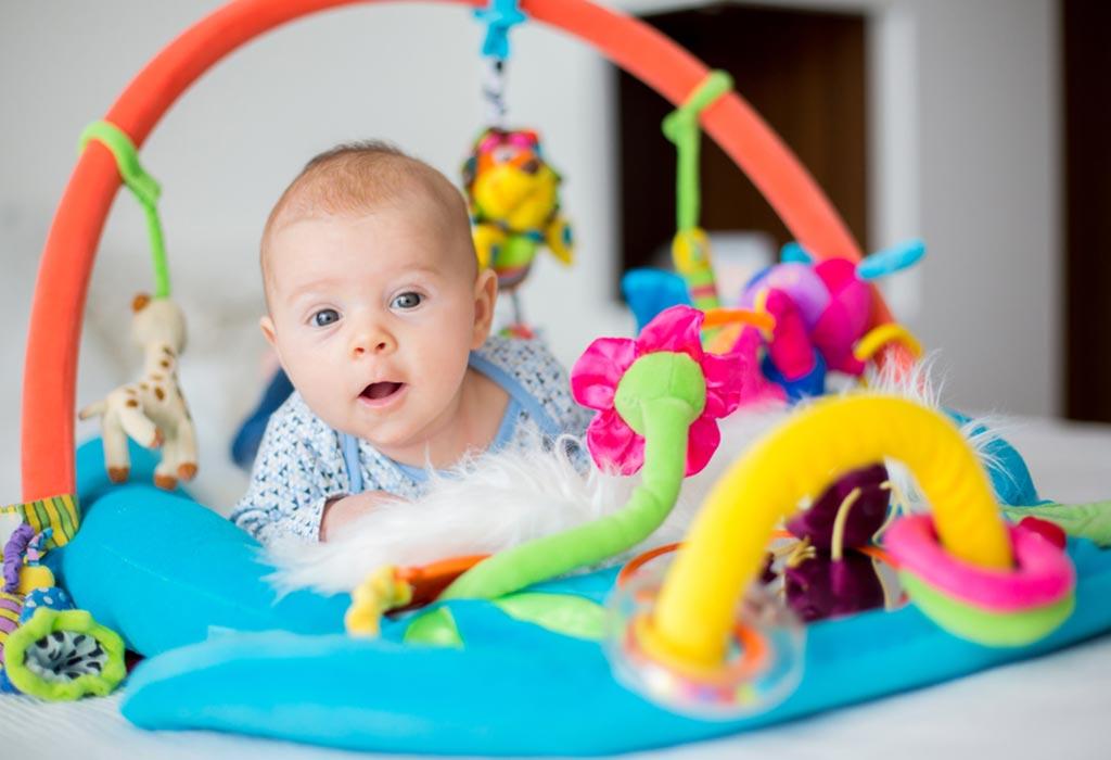 Игры с ребенком в 3 месяца дома