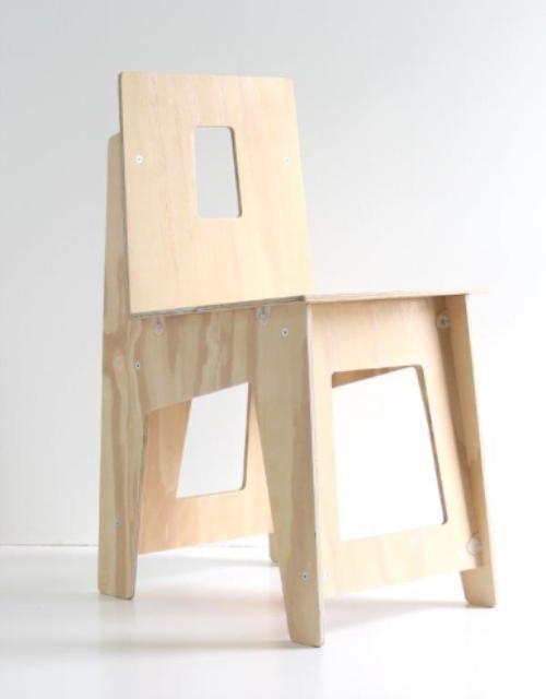 стул из фанеры своими руками чертежи